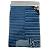 Blue Stripe 2 sheets, 2 tags
