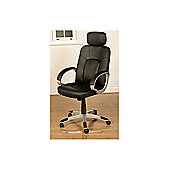 Elements Viking High-Back Executive Chair - Black