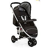 Hauck Miami 3 Wheel Stroller, Caviar/Silver