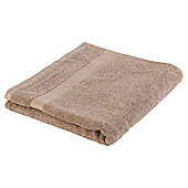 Tesco Pure Cotton Bath Sheet - Brown