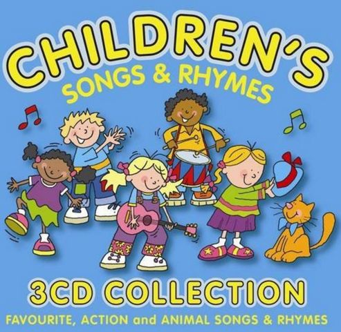 Children'S Songs & Rhymes (3Cd)