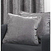Velvetine 1 pair Cushion Covers - Grey