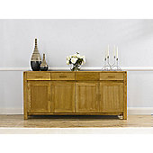 Mark Harris Furniture Verona Large Sideboard - Dark Oak - 86cm H x 180cm W x 45cm D