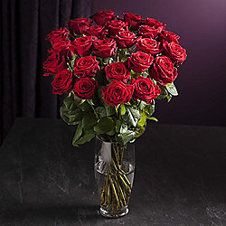 Finest Opulence Red Rose Bouquet