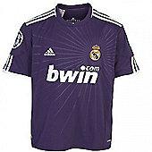 2010-11 Real Madrid 3rd Adidas European Football Shirt - Purple