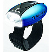 Sigma Sport Micro Front LED: Blue.