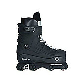 Anarchy Revolution Aggressive Inline Skates - UK 9 - Black