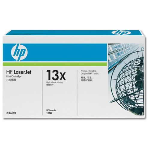 HP 13X LaserJet Printer Cartridge for LaserJet 1300 Series
