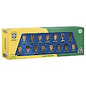 SoccerStarz Brazil 15 Team Figurine Pack
