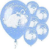 Balloons - Christening - Blue (5pk)