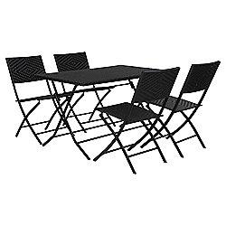 Morroc 4-seater Folding Garden Furniture Set