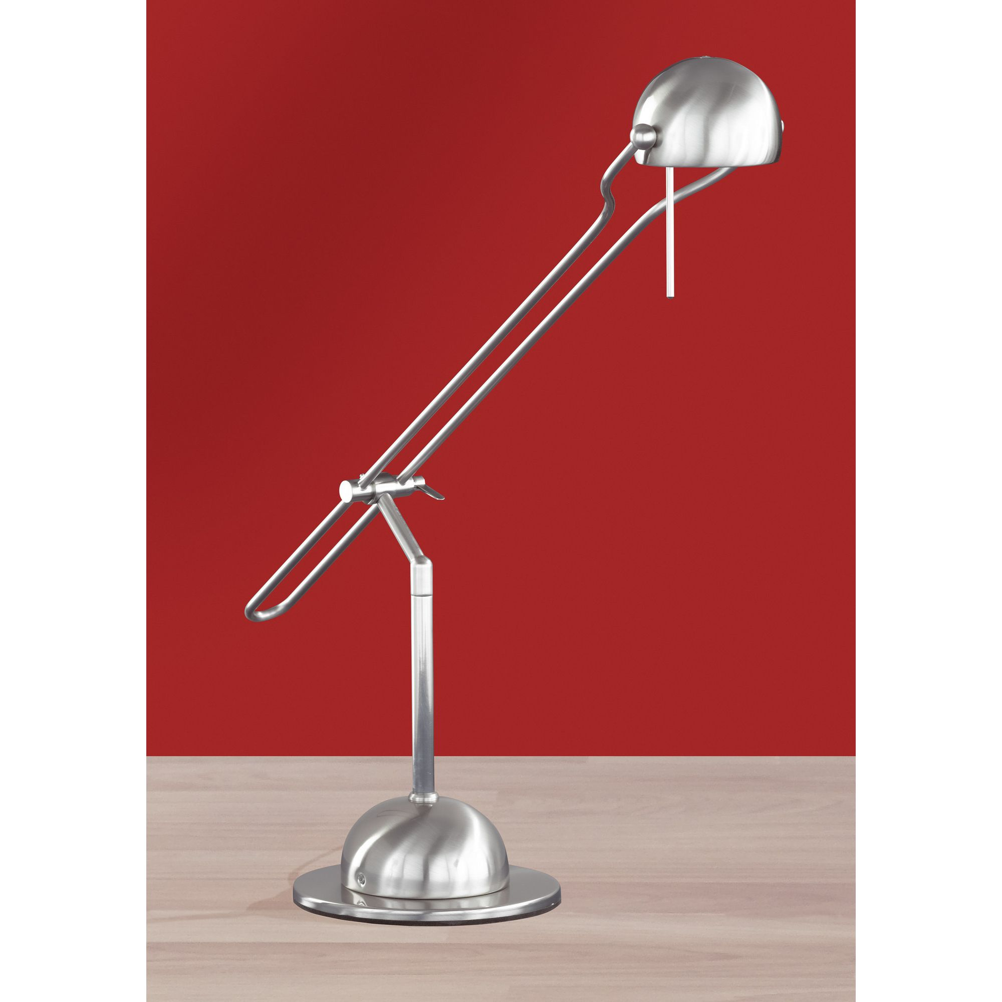 Wofi Halogen Table Lamp In Nickel