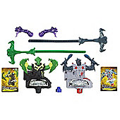 Beyblade Shogun Steel BeyWarriors Dark vs Water Element 2-Pack - Games/Puzzles