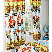 Under Construction, Colourful Bedroom Curtains - 72s