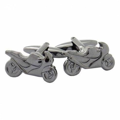 Maze Motorbike Cufflinks