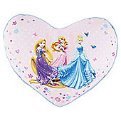 Disney Princess Land Heart Cushion