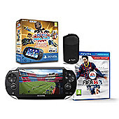 """PSVita WI-FI AND 3G (FIFA 14, KIDS VOUCHER, 16GB CARD AND CASE)"""
