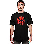 Star Wars Sith Empire Faction T Shirt (L) - Film and TV T-Shirts