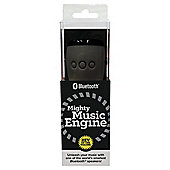 WowThem Mighty Music Engine Bluetooth Speaker Black/Black