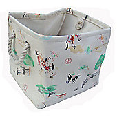 Wicker Valley One Piece Small Square Cowboy Soft Storage