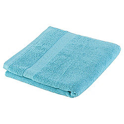 Tesco Pure Cotton Hand Towel Aqua