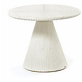 Varaschin Tulip Coffee Table by Varaschin R and D - White - 60 cm H x 60 cm W x 60 cm D
