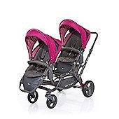 ABC Design Zoom Tandem Twin Stroller - Grape (2016)