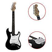 Tiger Full Size Beginner Electric Guitar - Black