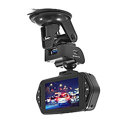 electriQ 1080p Ultra Wide Angle View Dash Cam with 2.7 Inch Screen and Ambarella Processor