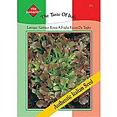 Lettuce 'Rossa a Foglia Riccia da Tavolo' (Loose-Leaf) - Vita Sementi® Italian Seeds - 1 packet (7000 lettuce seeds)