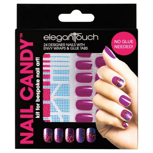 Elegant Touch Nail Candy Purple