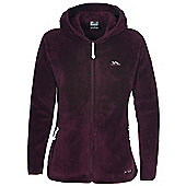 Trespass Ladies Jane Full Zip Fleece - Red
