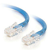 Cables to Go 1 m CAT5e Crossover Patch Cable - Blue