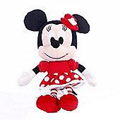 """I Love Minnie Minnie Mouse Valentine Dress 8"""" Plush Doll"""