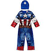 Marvel Marvel Captain America Dress Up 5-6 years