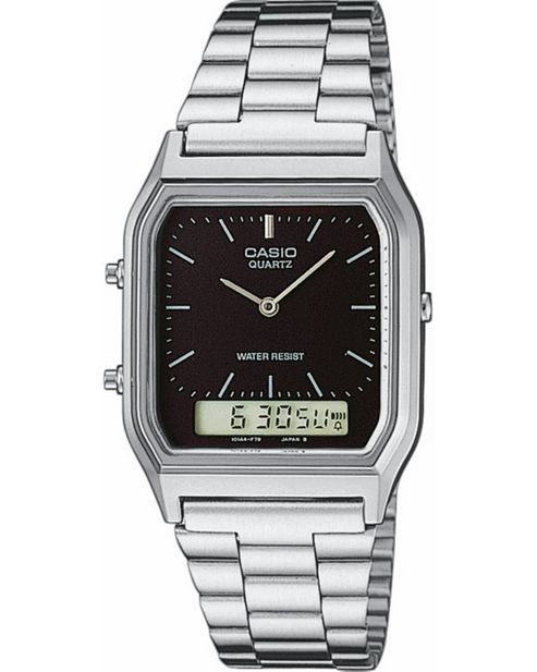 Casio AQ230A-1DMQ Mens Classic Combi Watch