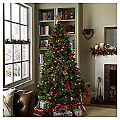 6.5ft Luxury Pre Lit Regency Fir Christmas Tree (150 white LEDs)