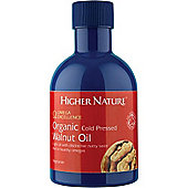 Higher Nature Organic Cold Pressed Walnut Oil 200ml Oil