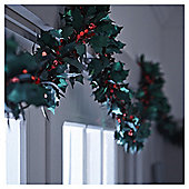 Weiste Holly and Berry Christmas Garland, 2m