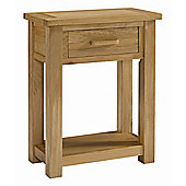 Kelburn Furniture Wiltshire Oak Small Console Table
