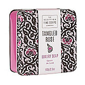 Scottish Fine Soaps Tangled Rose Soap in a Tin 100g