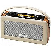 Roberts Vintage DAB/FM RDS Portable Radio, Pastel Cream