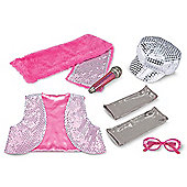 Melissa and Doug Role Play Costume Set Glitz and Glam