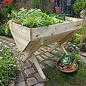 Zest 4 Leisure Vegetable Planter - 75cm H x 100cm W x 75cm D