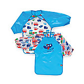 Mothercare Up, Up and Away PEVA Coveralls- 2 Pack
