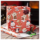 Chilly Extra Wide Christmas Wrapping Paper, 6m