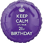 18' Keep Calm its your 21st (each)