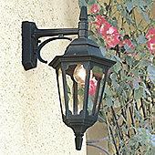Elstead Lighting Parish One Light Wall Lantern - Black