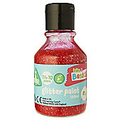 ELC Red Glitter Paint -- 150 ml