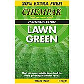 Chempak® Lawn Green Fertiliser - 1 x 1.2kg pack